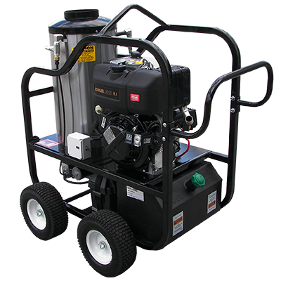 Hot Water High Pressure Washers for Commercial/Industrial Use