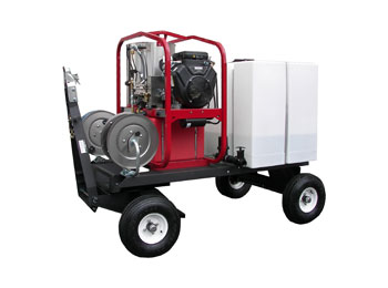 Tow & Stow Wash Cart